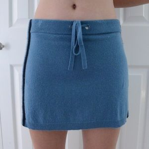 Juicy Couture Cashmere Skirt